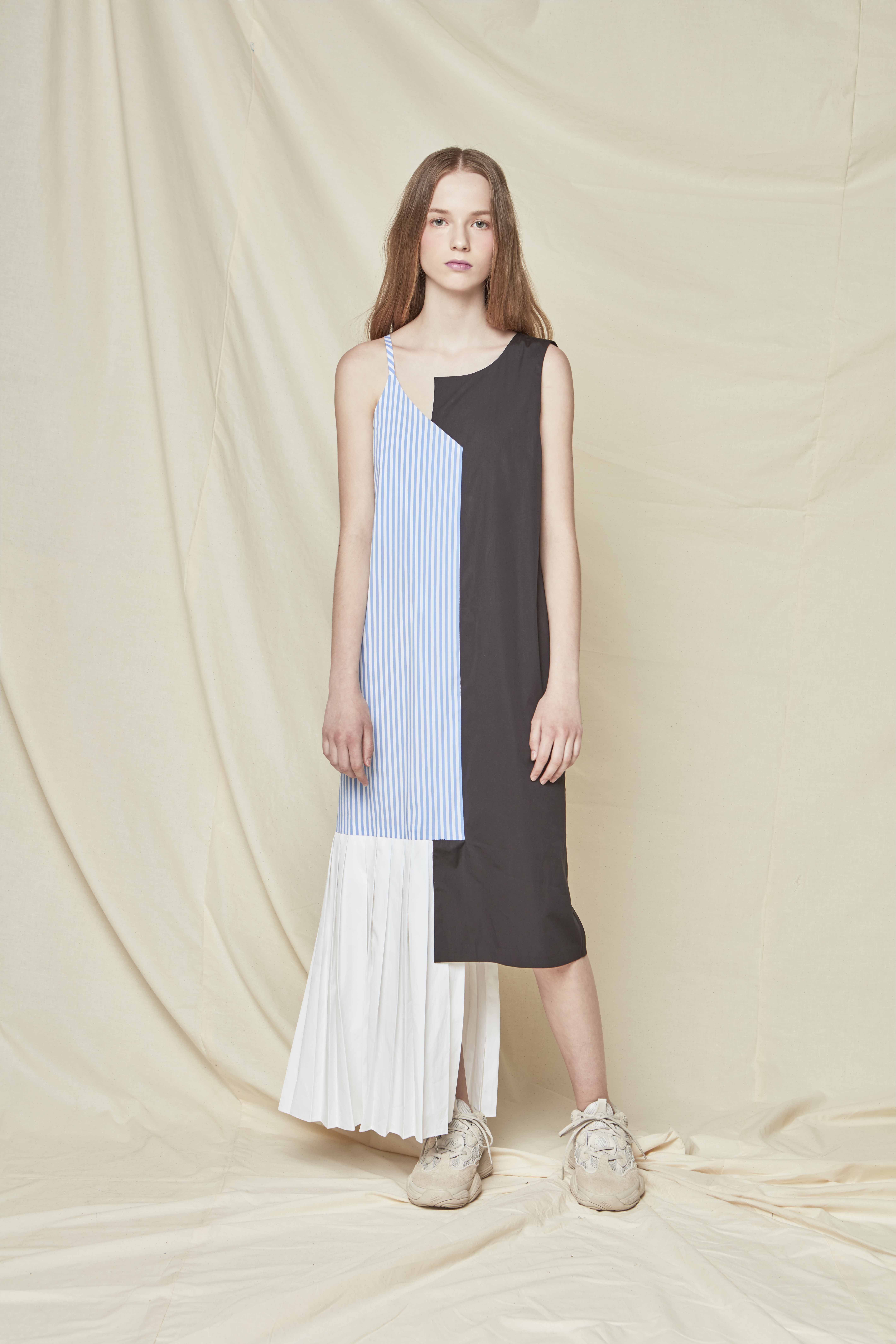 18 CAPSULE RESORT COLLECTION_COLLAGE SLEEVELESS DRESS